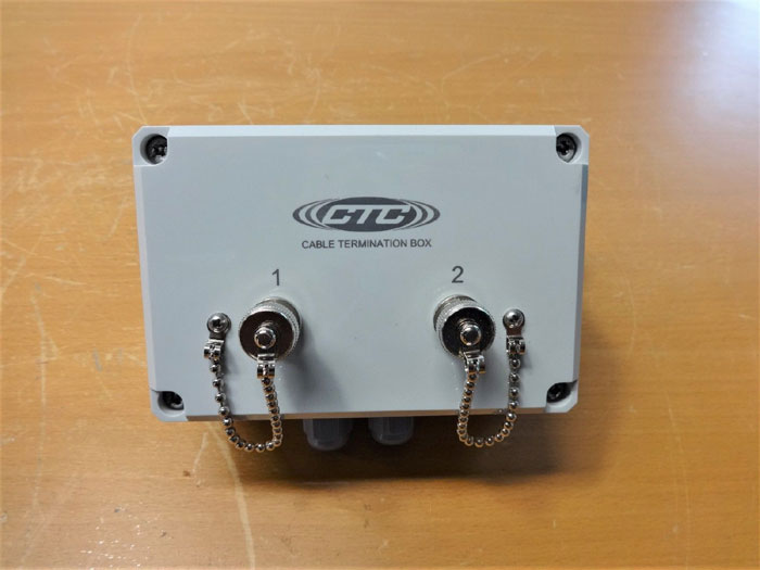 CTC 4-CHANNEL CABLE TERMINATION BOX CT101 SERIES