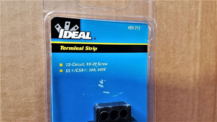 IDEAL 89-212 TERMINAL STRIPS - *LOT OF (10)*