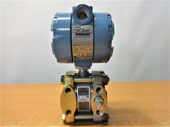 ROSEMOUNT 1151 SMART ALPHALINE PRESSURE TRANSMITTER 1151AP6S22B1M1K5