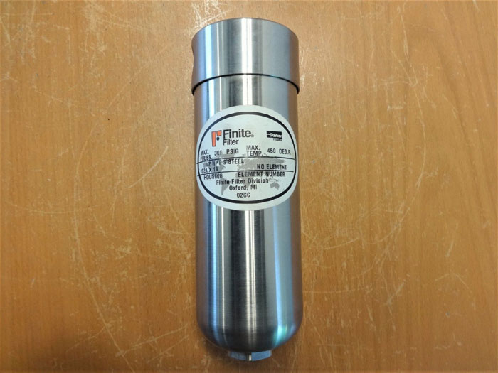 PARKER FINITE FILTER S2A X 1A STAINLESS STEEL 1/2""
