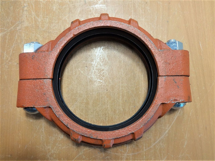 """VICTAULIC 6"""" FLEXIBLE GROOVED COUPLING TYPE 77"""