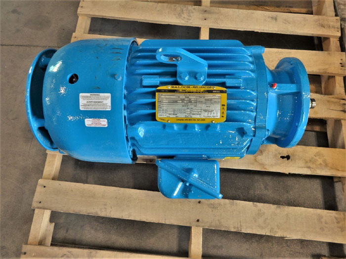 BALDOR RELIANCE 841XL SUPER-E SEVERE DUTY 15HP MOTOR 09L454Y948G1