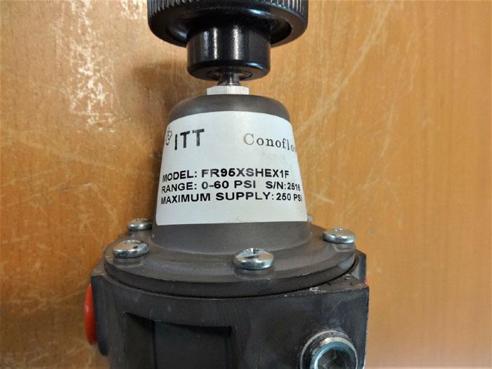 LOT (3) ITT CONOFLOW PRESSURE REGULATOR FR95XSHEX1F