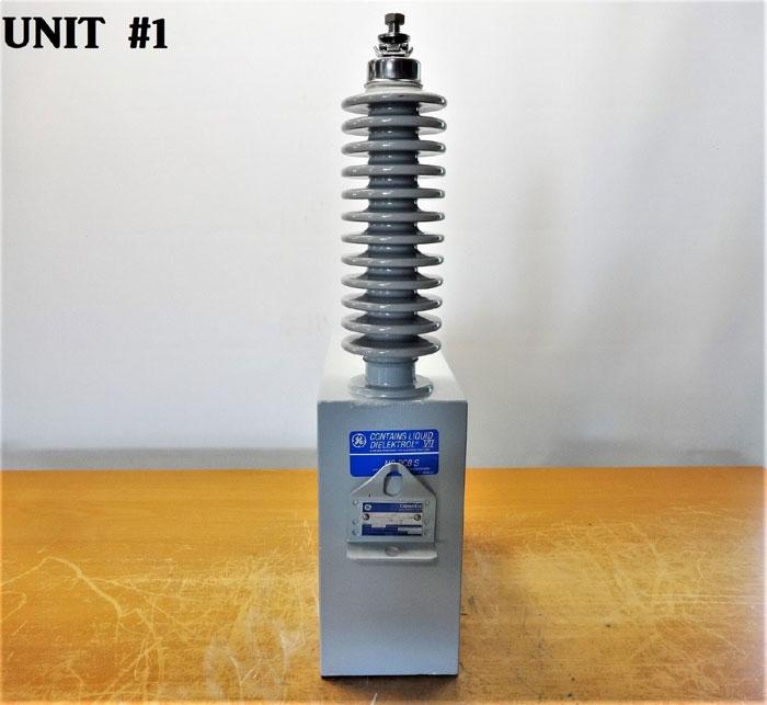 General Electric Ge Capacitor With Dielektrol Vii Fluid