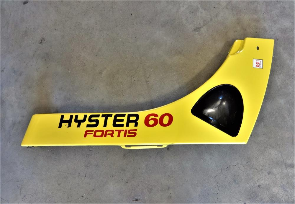 Hyster Forklift Fortis 60 Replacement Side Panel W/ Fuel Intake Guard 8528002.02