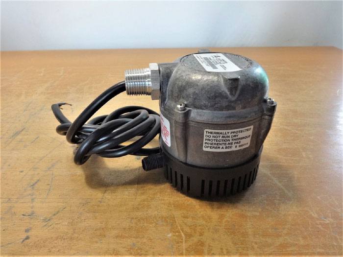 LITTLE GIANT 1-YS SUBMERSIBLE INDOOR / OUTDOOR WASHER PUMP