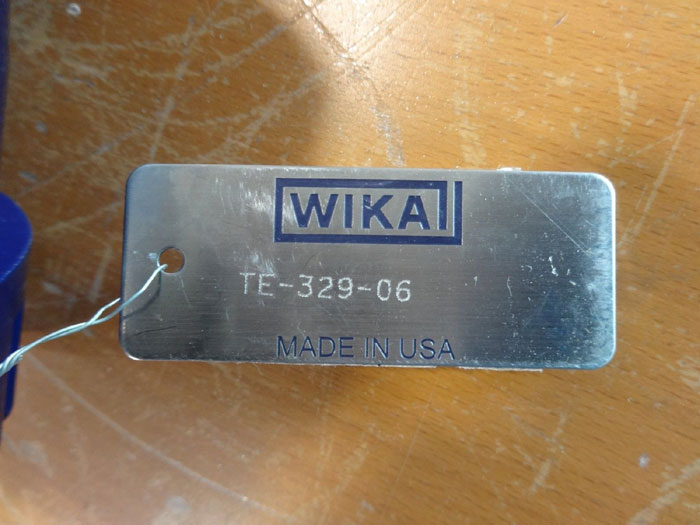 """WIKA RTD TEMPERATURE ASSEMBLY W/ 1"""" 300# 316SS FLANGED WELL"""