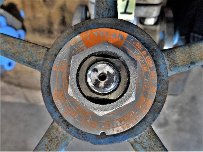"VELAN 1-1/2"" 150# MODEL B CF8M GATE VALVE F07-00646-13GX"