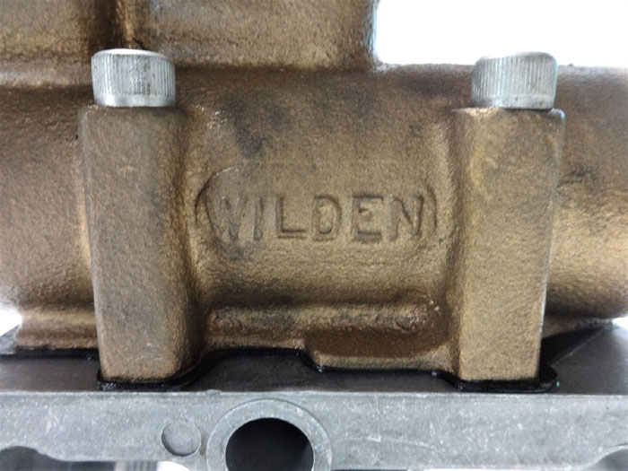 WILDEN BRONZE AIR FILTER ASSEMBLY 20-A WITH OILER 20H