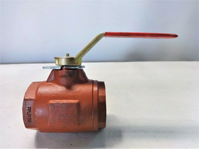 "KF INDUSTRIES 2"" NPT A105 BALL VALVE FPL0156"