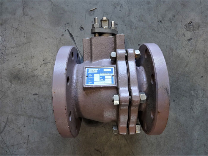 "ATOMAC 4"" 150# PFA LINED BALL VALVE, MODEL# B 72003"