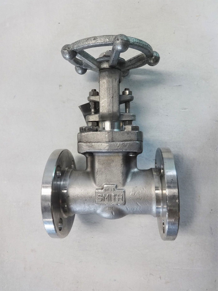 "SMITH 1-1/2"" FLANGED 150# STAINLESS STEEL GATE VALVE, FIG# 0815"