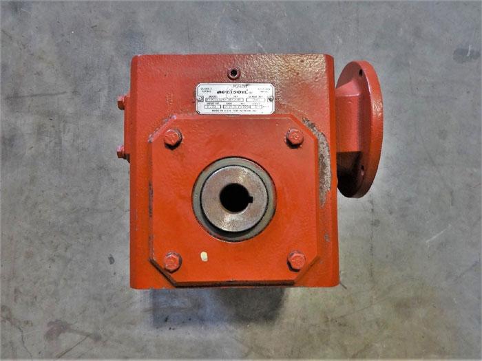 ACRISON FEEDER GEARBOX, 5.33 H, 15:1 RATIO, MOD# FHMQ1325-769376, PN# 2070307STD