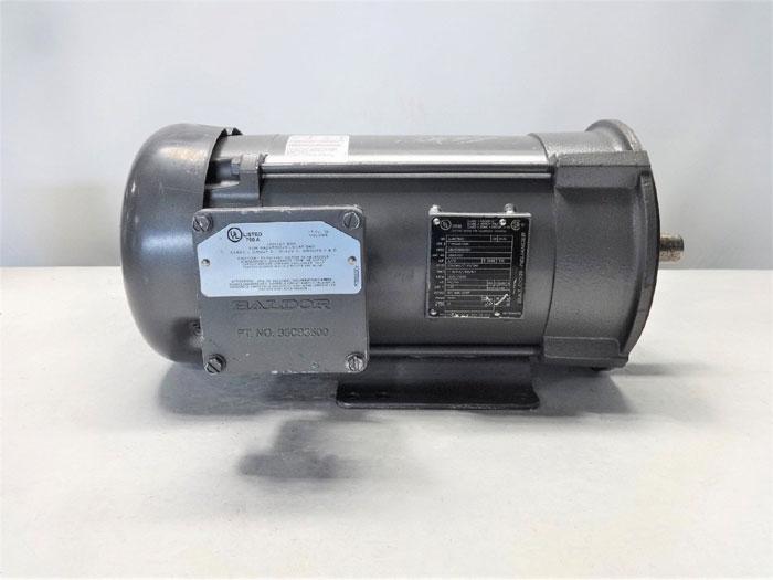 BALDOR RELIANCE 5//3 HP ELECTRIC MOTOR SPEC# 36N020S042G1, CAT# CEM7072T