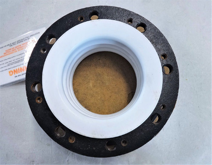 "ETHYLENE FLEXIJOINT 6"" X 3-3/4"" EXPANSION JOINT, PTFE BELLOWS"