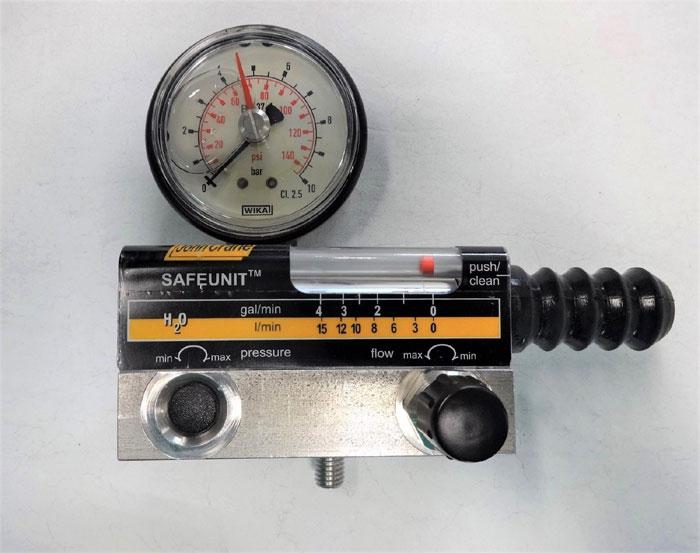JOHN CRANE SAFEUNIT SFP-15-10 WATER FLOW & PRESSURE CONTROL MONITORING SYSTEM