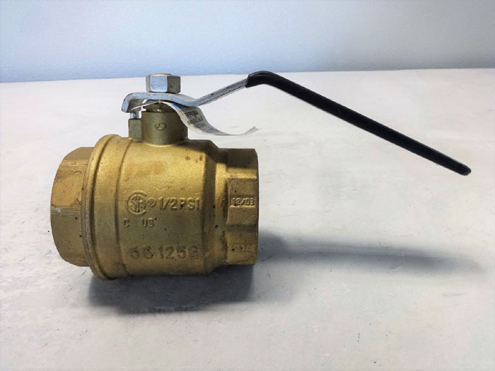 "NIBCO 2-1/2"" NPT FULL PORT BRASS VALVE TFP600A"