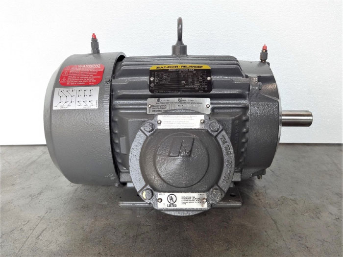 Baldor Reliance Motor EM7670T-I Super-E Severe Duty XEX, P21G4877, 10HP, 1765RPM