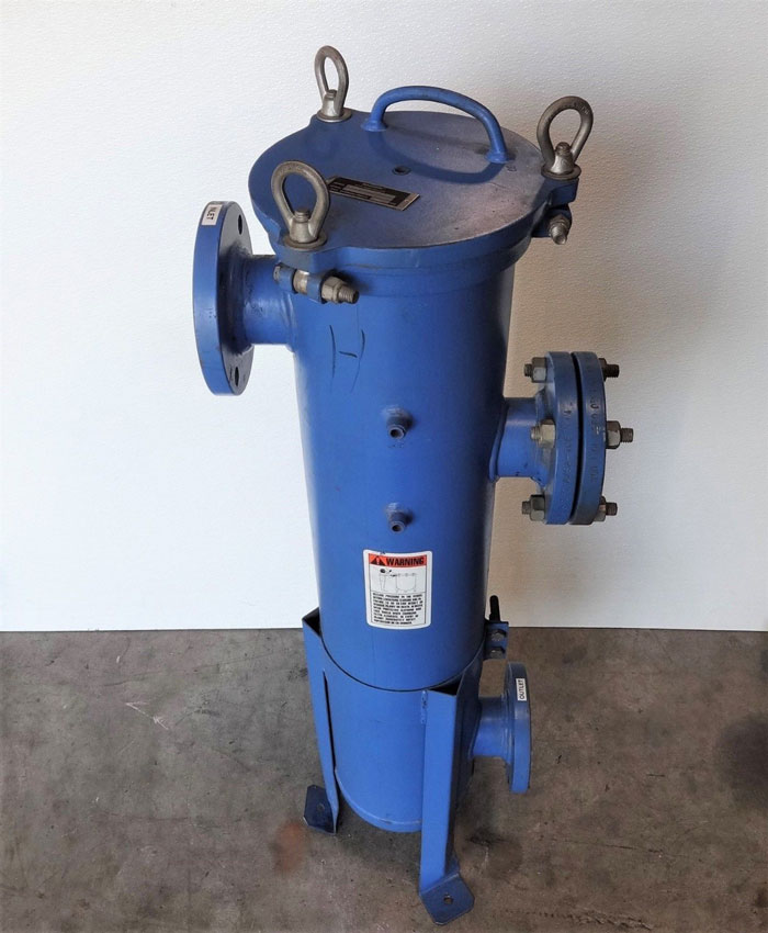 Nowata Filtration Filter Pot #W8NC30N15F3VS-9208 w/ Magnom Magnetic Filter