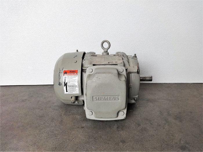 Siemens 1 HP NEMA Premium Motor, Type SD100 IEEE, 1LE24211AB212AA3