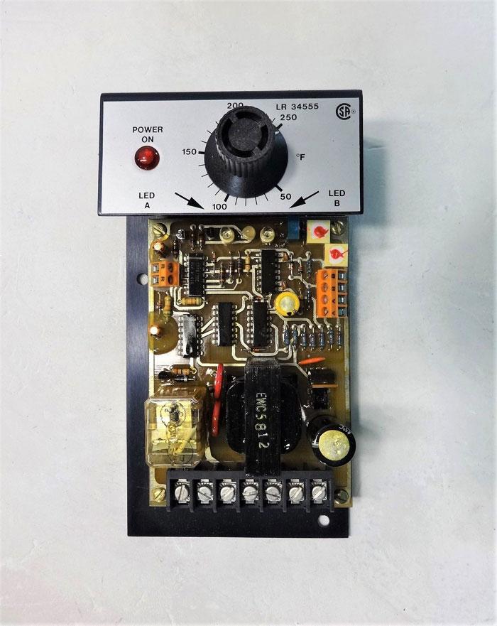 Barksdale Controls Temperature Switch 1B12S-25F-TH-Q2