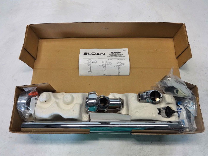 Sloan Royal Flushometer Model 115 Dual Filter Bypass Diaphragm Exposed, 3010300