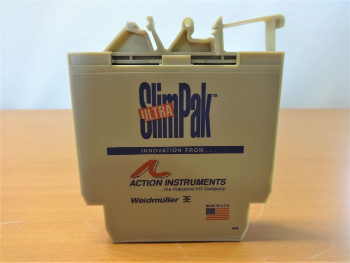 ACTION INSTRUMENTS ULTRA SLIMPAK G128 THERMOCOUPLE INPUT LIMIT ALARM G128-0001
