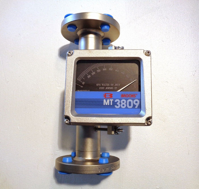 "BROOKS 1"" 150# MT3809 METAL TUBE VARIABLE AREA FLOWMETER 3809E13CAHQA1A1"