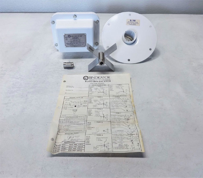 Bindicator Roto-Bin-Dicator Level Sensor RXAF 06-95