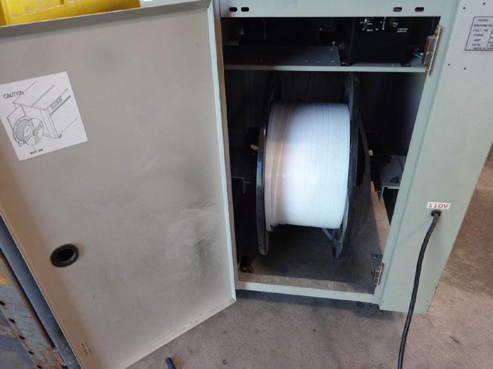 ULINE SEMI-AUTOMATIC POLY STRAPPING MACHINE H-959
