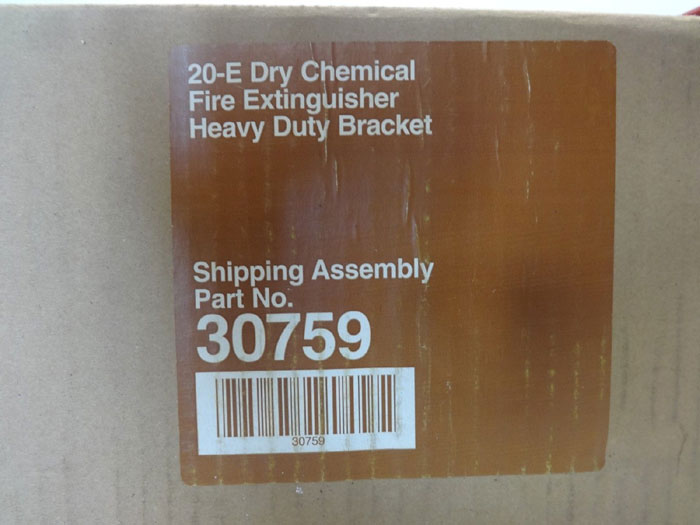 Ansul 20-E Heavy Duty Bracket for Dry Chemical Fire Extinguisher #30759