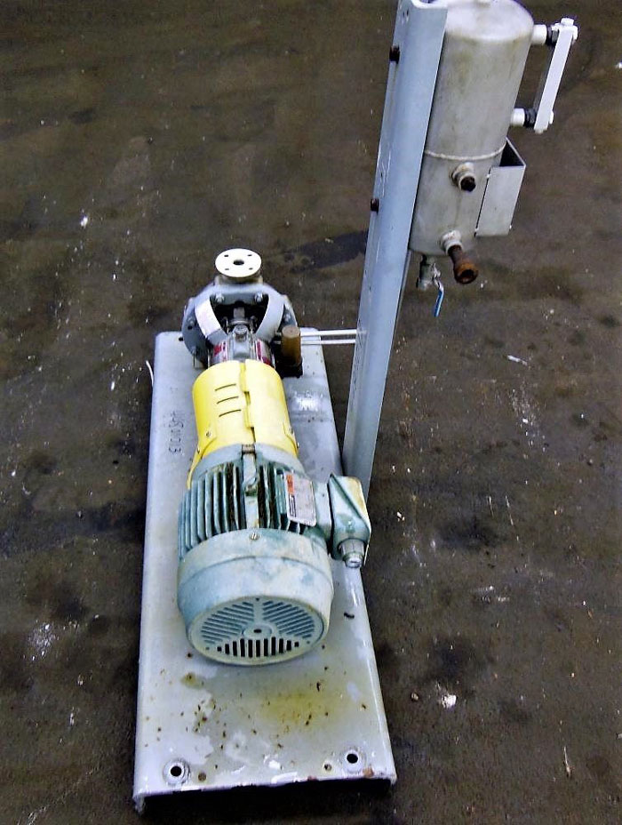 Flowserve Durco Mark 3 Centrifugal Pump, MK3 STD, 1K1.5X1-62/5.19RV, CD4M/CD4MCu