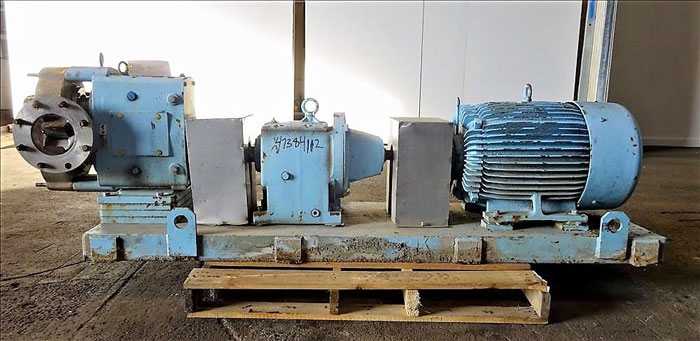 Waukesha Rotary Positive Displacement Pump, Model 320, Stainless (47384112)