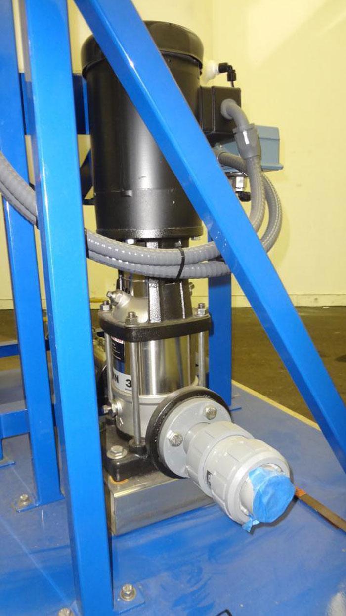 US Filter Pump System Controller, Grundfos CRN3 Pump, Terracon 100 GAL Tank Assy