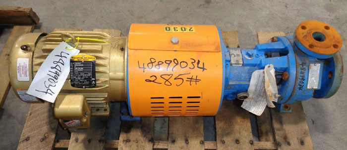 Goulds 3196 i-Frame Centrifugal Pump, Size 1.5X3-6 Ductile Iron, (48899034)
