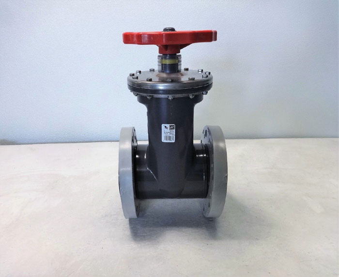 "Spears 4"" PVCI Flanged Gate Valve 2033-040"