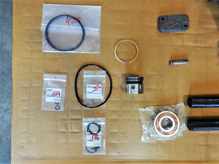 IMO Pump G3DHS-218 Major Kit, Part# 3212/192R w/ Rotors, Housings, Rings & More