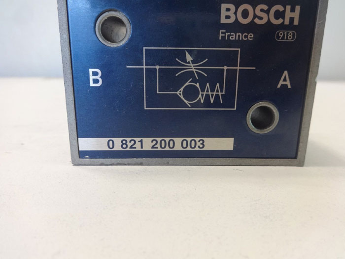 "Rexroth & Bosch 1/2"" NPT Inline Flow Control Valves 0821200003 **Lot of (2)**"