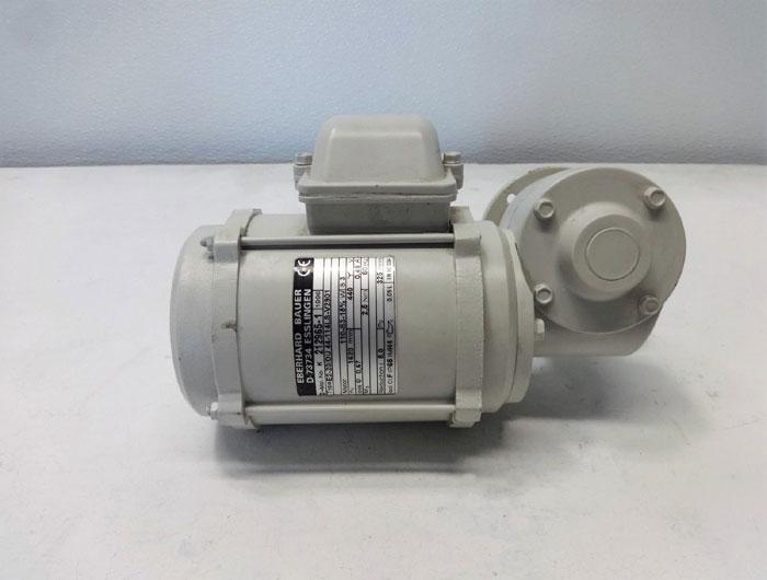 Eberhard Bauer Worm Gear Motor E2-20/DU 44-114LS-V2901