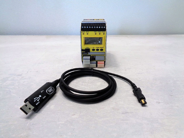 Moore Programmable Safety Trip Alarm, FS Series, STA/HLPRG/3PRG/U-AO [DIN]