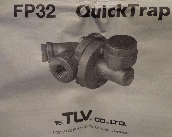 LOT OF (10) TLV QUICK TRAP VALVE  - FP32