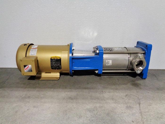 "ITT Goulds e-SV Stainless Vertical Pump, 2"" NPT Oval 10SV5TG4F64H w/ 5HP Motor"
