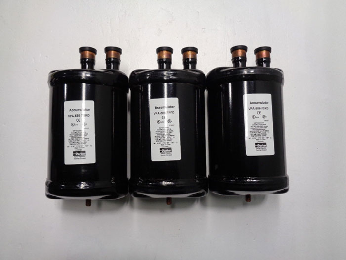 Parker Refrigerant Accumulator VPA-589-7SRD **Lot of (3)**