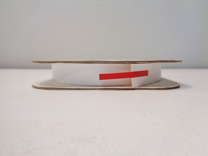 """Lot of (3) Gore 1"""" x 0.40"""" x 50' Gasket Tape, 13023760, 0050401.00"""