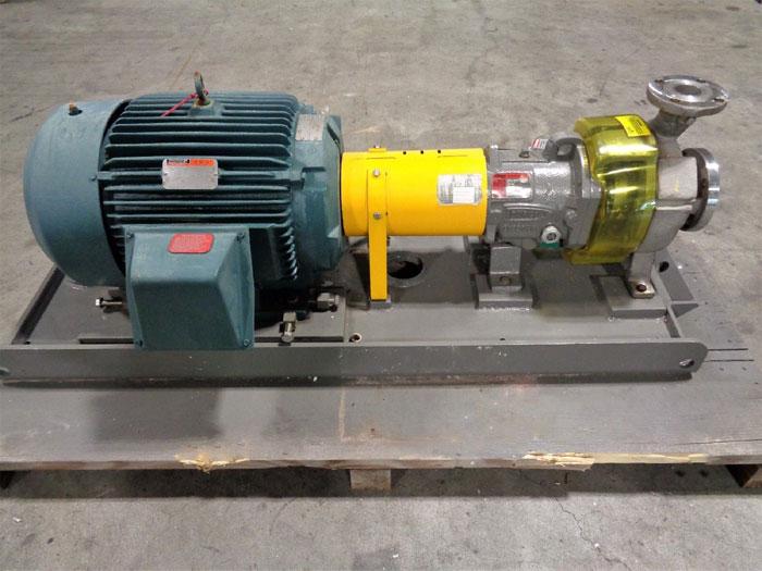 Flowserve Durco Mark 3 Centrifugal Pump, MK3 STD, 2K-3X2-82RV/8.13, D4 / CF8M
