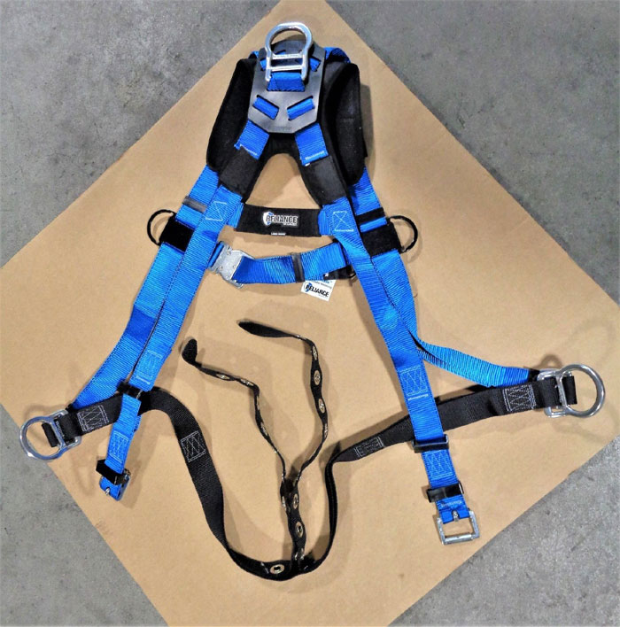 Reliance A-Series Full Body Harness, XXL, 310lb, Poly, 802500-A, *Lot of (2)*