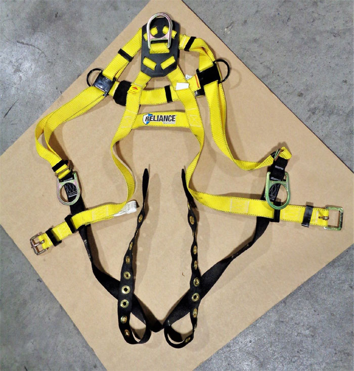 Reliance BigBoy 440lb Full Body Harness, XXXL, Polyester, 802600