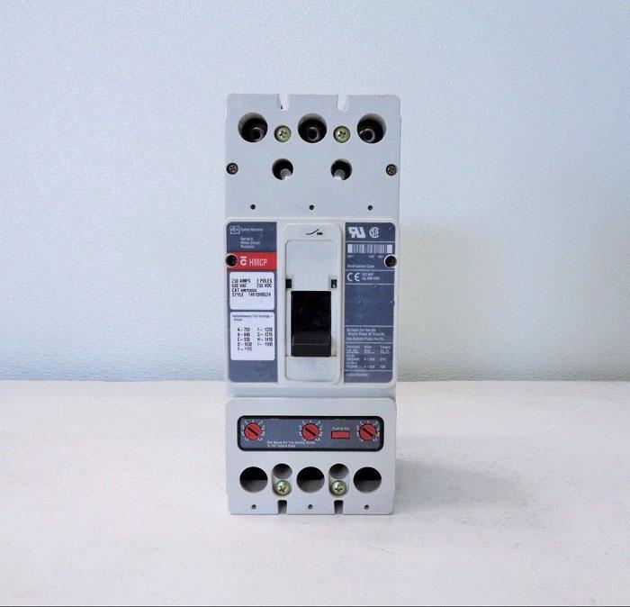Cutler Hammer Series C HMCP Molded Circuit Breaker, 250A, 3-Pole, HMCP250G5C