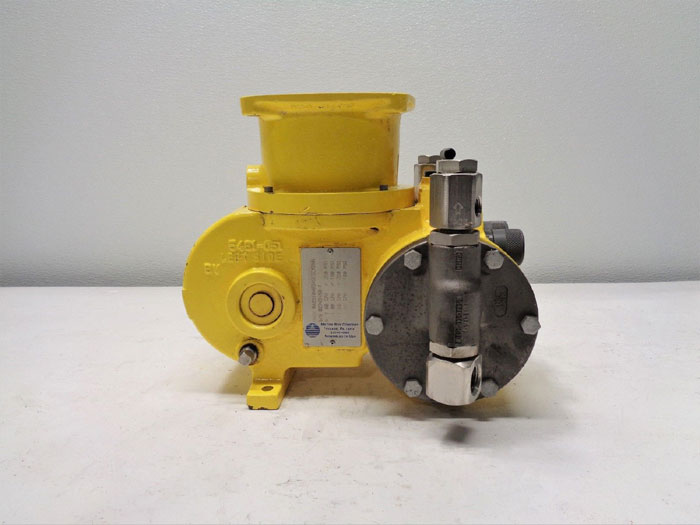 Milton Roy mRoy A & B Metering Pump, 1.60 GPH, 350 PSI, #RA2510483XSESEM2NN