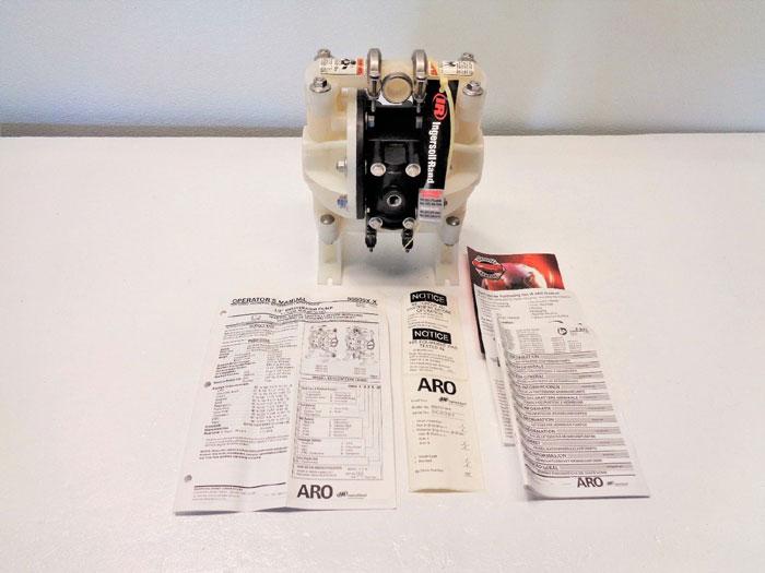 "ARO Ingersoll Rand 1/2"" NPT Non-Metallic Diaphragm Pump 666057-444"